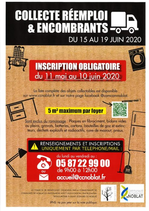 Information collecte encombrants-2020