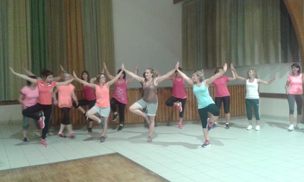 Gymnastique avec Saint Martin No Limit