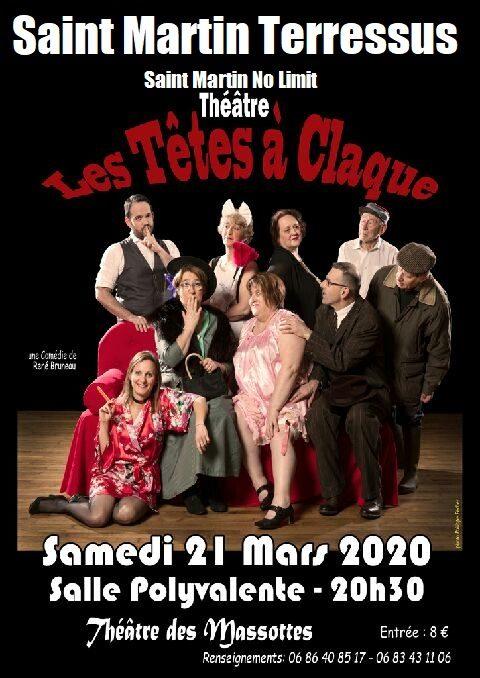 theatre tetes a claque
